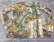 Field and Stream 1871 Youth Long Sleeve Camo Shirt Size Large Pullover