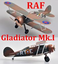 Easy Model 1/72 Gladiator Mk.I 112 Sqn , RAF RT-E (K6135) #36458