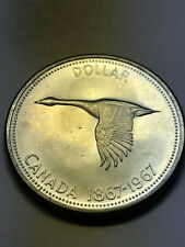 1967 Canadian Dollar Unc++ #11485
