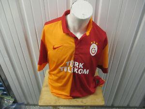 VINTAGE NIKE Galatasaray S.K. 2XL SEWN HOME JERSEY 2012/13 KIT TURKEY SUPER LIGU