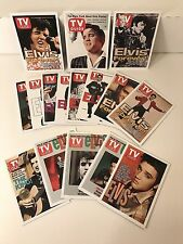 "ELVIS PRESLEY ""TV GUIDE COVERS"" Complete SEALED Trading Card Set Unique Item!"