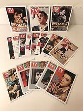 "ELVIS PRESLEY ""TV GUIDE COVERS"" Complete SEALED Trading Card Set Unique Item!"