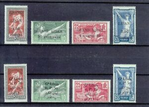 LEBANON 1924  OLYMPICS IN PARIS  TWO COMPL. SETS  YVERT €260,-   MLH *