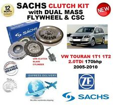 FOR VW TOURAN 2.0 TDi SACHS CLUTCH KIT 170bhp 2005-2010 with FLYWHEEL CSC BOLTS