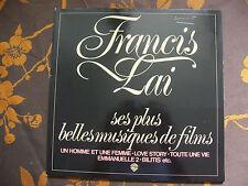 LP FRANCIS LAI - Ses Plus Belles Musiques De Films  WEA – 56 556 Germany (1978)