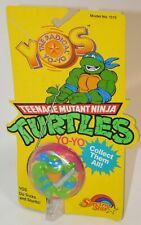Teenage Mutant Ninja Turtles Leonardo Yo-Yo Vintage Spectra Star 1989 TMNT