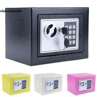 Electronic Digital Safe Box Keypad Lock Security Home Office Cash Jewelry Case<<