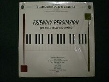 Friendly Persuasion Ron Ayres~UK Import Piano & Rhythm~FAST SHIPPING!!!
