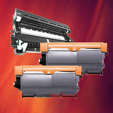 Toner Cartridge TN-450 & Drum DR-420 for Brother 3 Pack