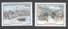 Monaco -Timbres neufs ** - La belle époque - N°1492 et 1493 - 1985 -TB