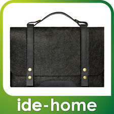 """Fabrix Cases Black Satchel / Carry Bag for Macbook Air 11"""" 13"""" and Pro 13"""""""