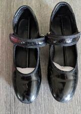 Danskin Company Free Style Tap Shoes Black Girls Size 13
