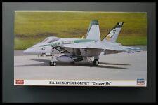 Rare Hasegawa 1/72 F/A-18E SUPER HORNET 'CHIPPY HO' Model Kit
