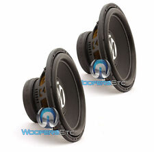 """(2) MEMPHIS BR15S4 SUBS 15"""" 800W SINGLE 4-OHM CAR SUBWOOFERS BASS SPEAKERS NEW"""