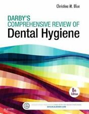 Darby's Comprehensive Review of Dental Hygiene by Christine M. Blue (2016, Paper