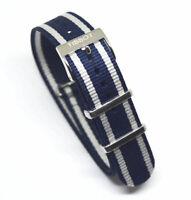Original Tissot Quickster T095410A / T095417A Blue / Silver Watch Band Strap