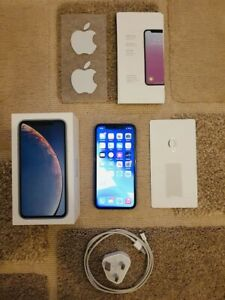 Apple iPhone XR - Unlocked - 128GB - Blue - Great Condition