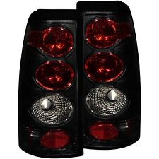 Anzo Tail Lights Dark Smoke For 99-02 Chevy Silverado/99-06 GMC Sierra 1500/2500
