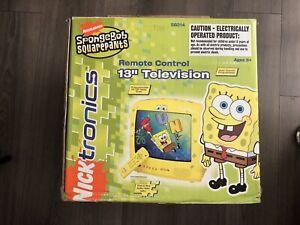"SpongeBob SquarePants Nicktronics 13"" TV Box Only 2005"