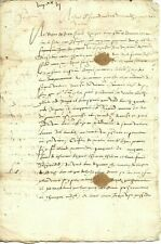 1578 Awesome 8 Page 16th Century Document - 448 years old!!!