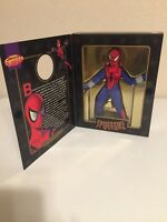 "Marvel Famous Covers Series SPIDER-GIRL 8"" Retro Previews Exclusive Toy Biz NIB"