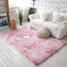 Bathroom Mat Floor Carpet Plush Toilet Rectangular Microfiber Eco-Friendly Rugs