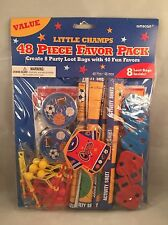 48 Piece Little Champs Birthday Party Loot Treat Favor Pack  Football  Baseball
