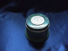 Avon Regence  Green Glass Plastic Jar Empty Loose Pearls Cages Holder