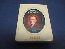 Bing Crosby 8 Track A Legendary Performer, Ol' Man River',Dream of Me,Whispering