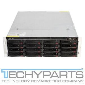"Supermicro CSE-836TQ 3U Server Chassis 2x 700W 3.5"" 16-Bay Direct BPN-SAS836TQ"