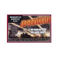 Apocalypse - Aimant de réfrigérateur Ensemble - réfrigérateur poésie