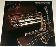 "Record Breaking LP YAMAHA ELECTONE 7000 PRIVATE JAZZ Organ Guitar 12"" Funk soul"