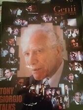 Vintage Genii Magazine Tony Giorgio Talks Issue 2003