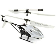 Gyro RC Helicopter White Remote Control Twin Propeller Toy w/ iPhone Control NEW