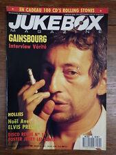 REVUE JUKEBOX MAGAZINE / 1990 / 34 / GAINSBOURG