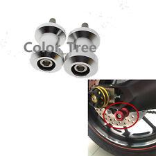 For HONDA CBR929RR 2000-2001 CNC 8mm Swingarm Spool Slider Bobbin silver Hades