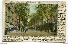 CPA - Carte postale- France -Nice - Avenue de la Gare - 1902 ( CP3910 )