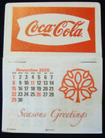 2021 Coca-Cola™ Fishtail Peel & Stick 14 Month Dash Calendar NO PRICE INCREASE!