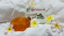 Crocodile oil soap, olive oil, coconut oil, cucumber, Aloe & Honey - FACE Soap