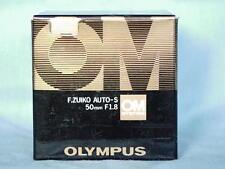 OLYMPUS OM ZUIKO 50mm F1.8 LENS NEW IN BOX