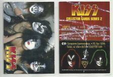 "1998 CORNERSTONE ""ROCKBAND - KISS"" PROMO TRADING CARD - V/GOOD COND"