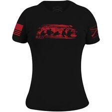 Grunt Estilo para Mujer de R.e.d. viernes Camiseta-Negro
