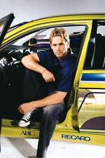 Paul Walker 24X36 Poster Fast and Furious Honda Recaro