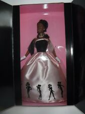 New Mattel Barbie Doll Timeless Silhouette African American Pink Dress #29051