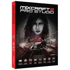 NEW Acoustica Mixcraft Pro Studio 8 Digital Audio Workstation Mixing Mastering