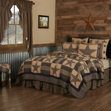 COUNTRY PRIMITIVE FARMHOUSE TETON STAR PATCHWORK QUILT COLLECTION VHC BRANDS