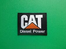 MOTOR RACING OILS, FUELS & TYRES SEW ON / IRON ON PATCH:- CAT (b) DIESEL POWER