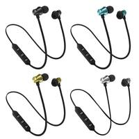 Bluetooth 4.2 Headphone Earphone Headset Stereo Wireless Magnetic In-Ear Earbuds