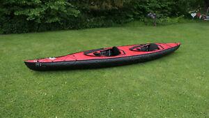 Faltboot nortik scubi 2, rot, mit neuen Luftschläuchen