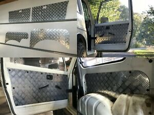 Suzuki Gen 2 Sierra Samurai 1981-1999-Checker plate Aluminium Door & Cargo Panel